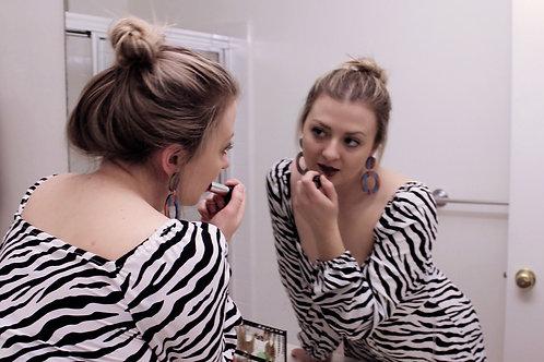 Give Me Stripes and Call Me a Zebra Dress