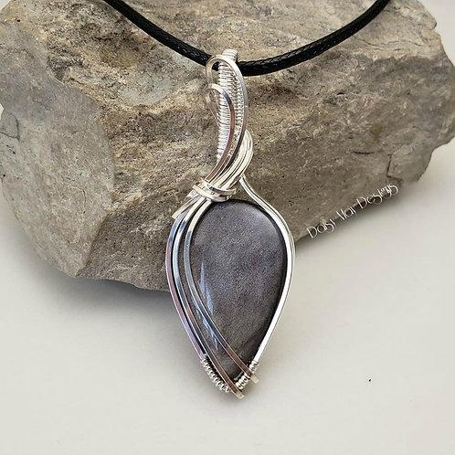 #1142 - Silver Sheen Obsidian