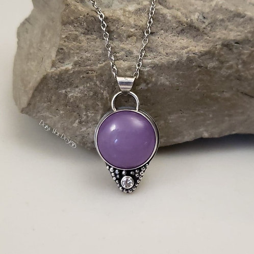 #1254 - Lavender Candy Jade