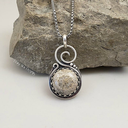 #1137 - Coral fossil