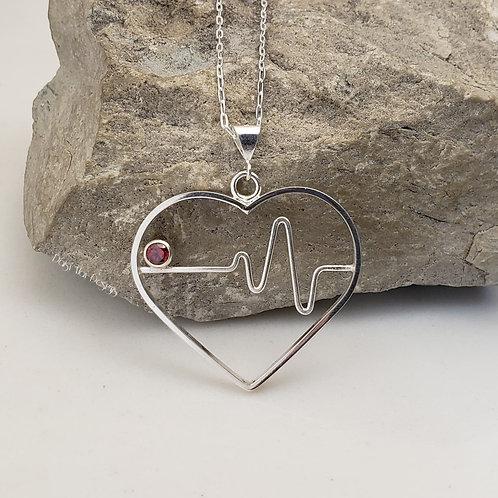 """#1251 - """"Heartbeat"""" Garnet"""