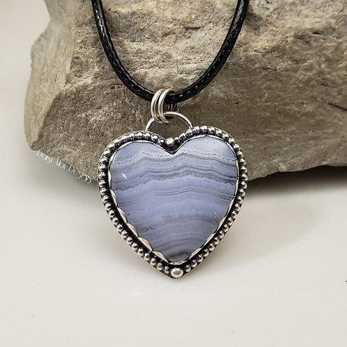#1230 - Blue Lace Agate
