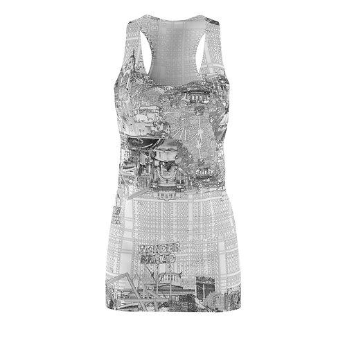 YES4020 INTERSECTION by OREWILER - Women's Cut & Sew Racerback Dress