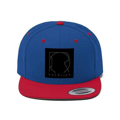OREWILER LOGO - Unisex Flat Bill Hat