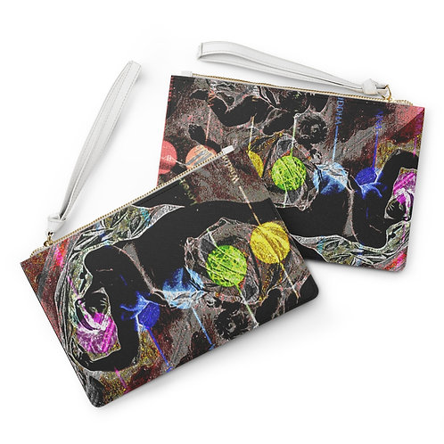 Clutch Bag CHAKRA   GAIA (Mother Earth) DESIGN by OREWILER