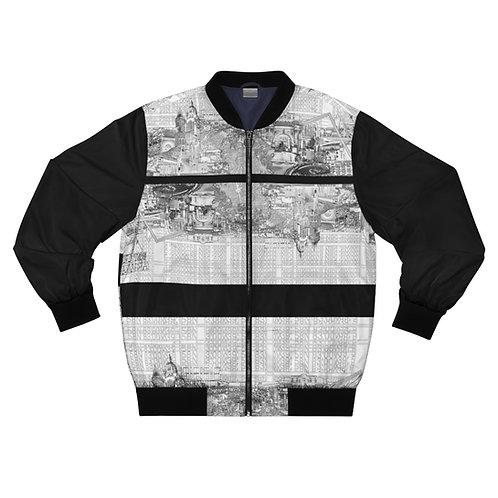 INTERSECTION design by OREWILER - Men's AOP Bomber Jacket