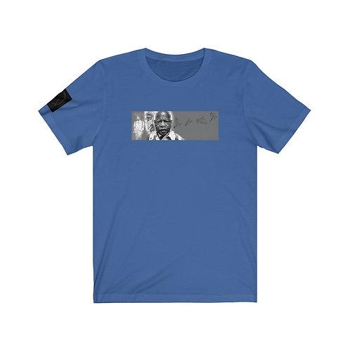 John Lewis tribute design by OREWILER - Unisex Jersey Short Sleeve Tee