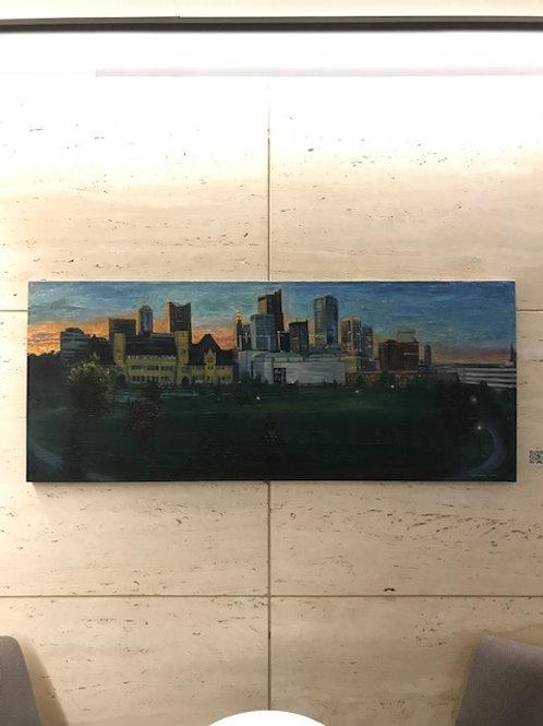 Columbus Skyline - 1st cityscape