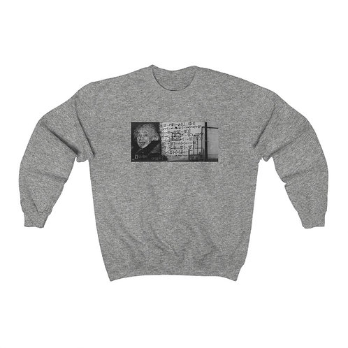 U=ME2 mural sweatshirt by OREWILER - Unisex Heavy Blend™ Crewneck Sweatshirt