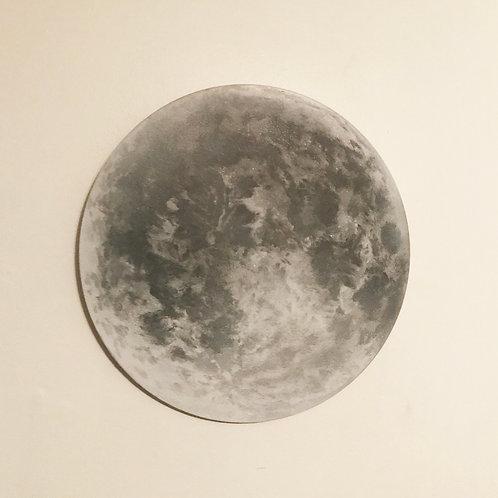 """Moon (18"""" circle)"""