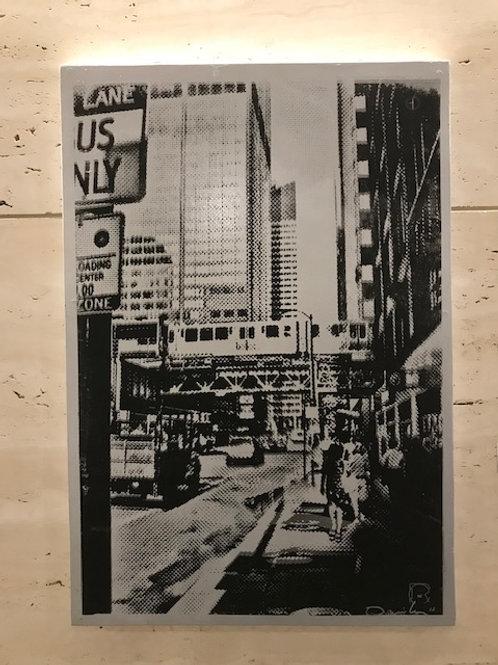 Chicago Silver/black