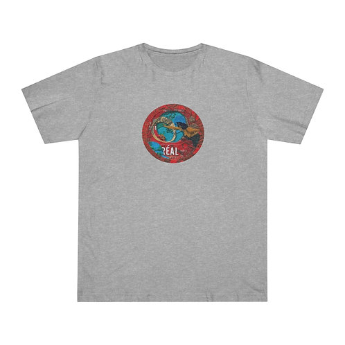 full color REAL' design by OREWILER - Unisex Deluxe T-shirt