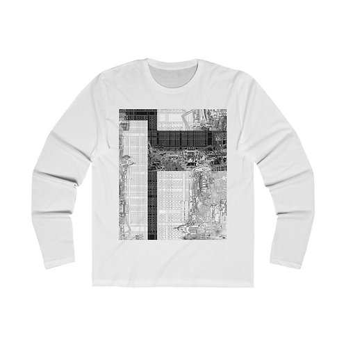 urban g - INTERSECTION design by OREWILER - Men's Long Sleeve Crew Tee