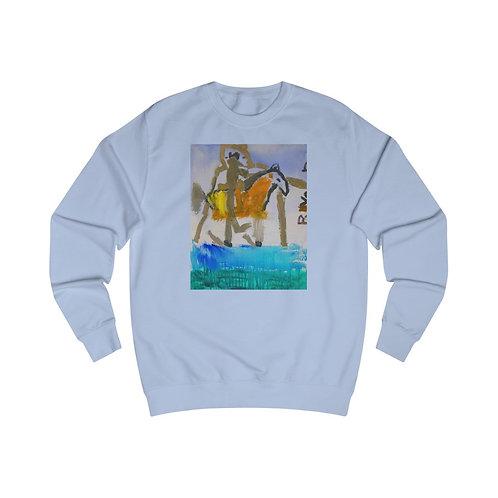 OREWILERS FIRST PAINTING - Men's Sweatshirt