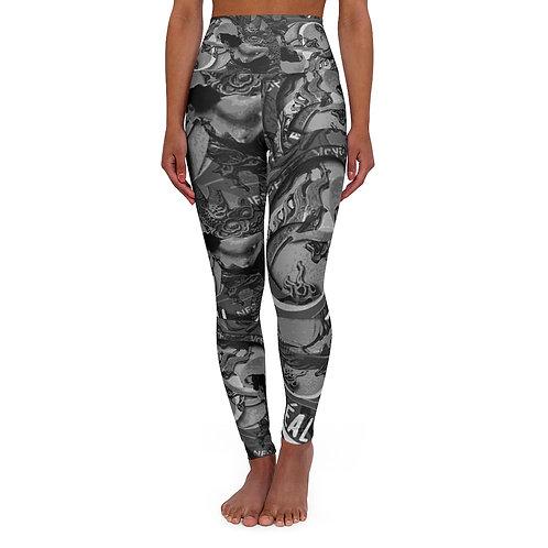 REAL' design by OREWILER - High Waisted Yoga Leggings