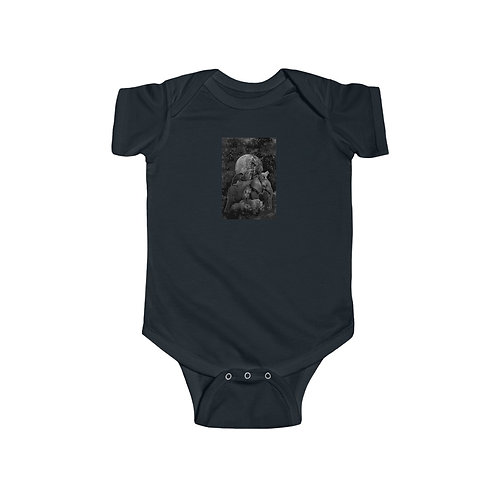 digital GAIA design by OREWILER - Infant Fine Jersey Bodysuit