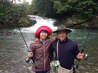 北海道富良野アウトドアツアー ルアーフィッシングならガイドラインアウトドアクラブ
