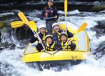 北海道富良野アウトドアツアー ラフティングならガイドラインアウトドアクラブ