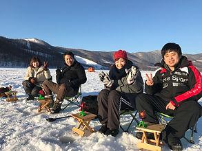 北海道富良野ワカサギ釣りツアー1DAY ガイドラインアウトドアクラブ