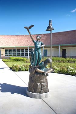 Statue Rendered