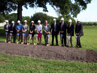 Clearwater East Community Library Groundbreaking
