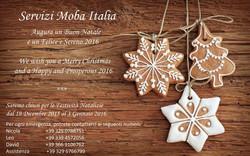 Chiusura Festività Natalizie 2015