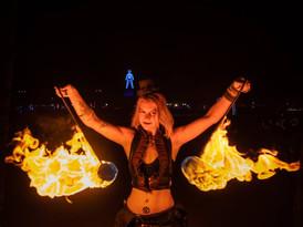 Burning Man Burn