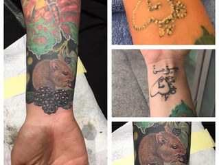 New @ Skinwork Tattooentfernung/Aufhellung