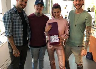 """Gratulation dem Gewinner unseres """"SKINK-MAS"""" CHF 3000.- Tattoo Gutscheins"""