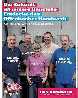 Dilek Ayhan Kampagne Offenbacher Handwerk