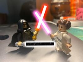 Emperor vs Princess Leia