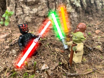 Yoda vs Darth Maul