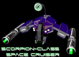 Scorpion-Class Space Cruiser