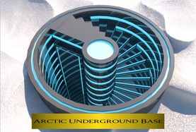 Arctic Underground Base