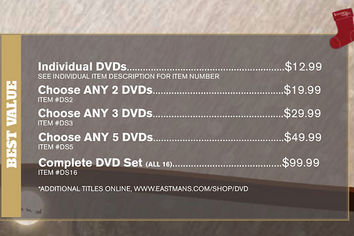 Choose Any 5 DVDS