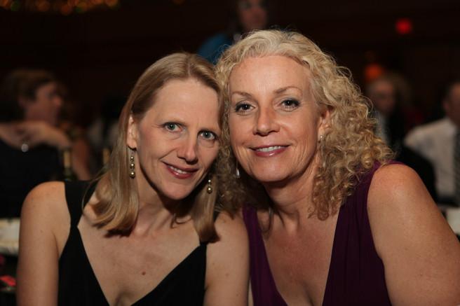 Mara and Mimi at Southern Comfort...