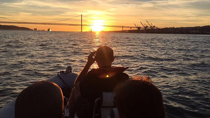Passeio de barco Lisboa