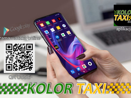 Aplikacja Kolor Taxi Ełk