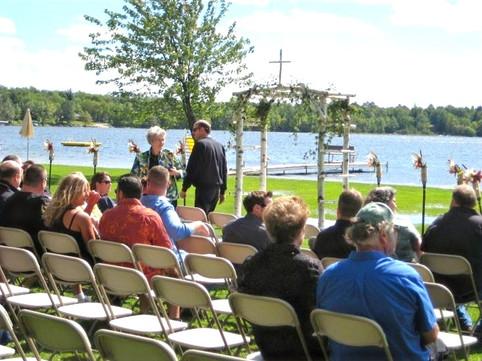 Wedding at Agate Lake Resort