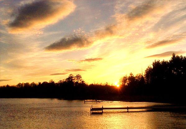 Agate Lake Resort Sunset