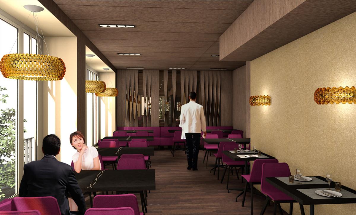 Barmade Innenarchitektur - Planungsphase Restaurant Aurora