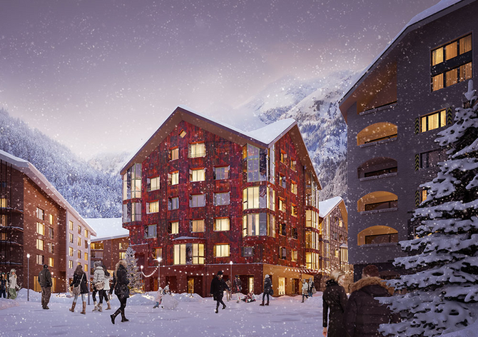Swiss Alps Alpenrose Appartment House