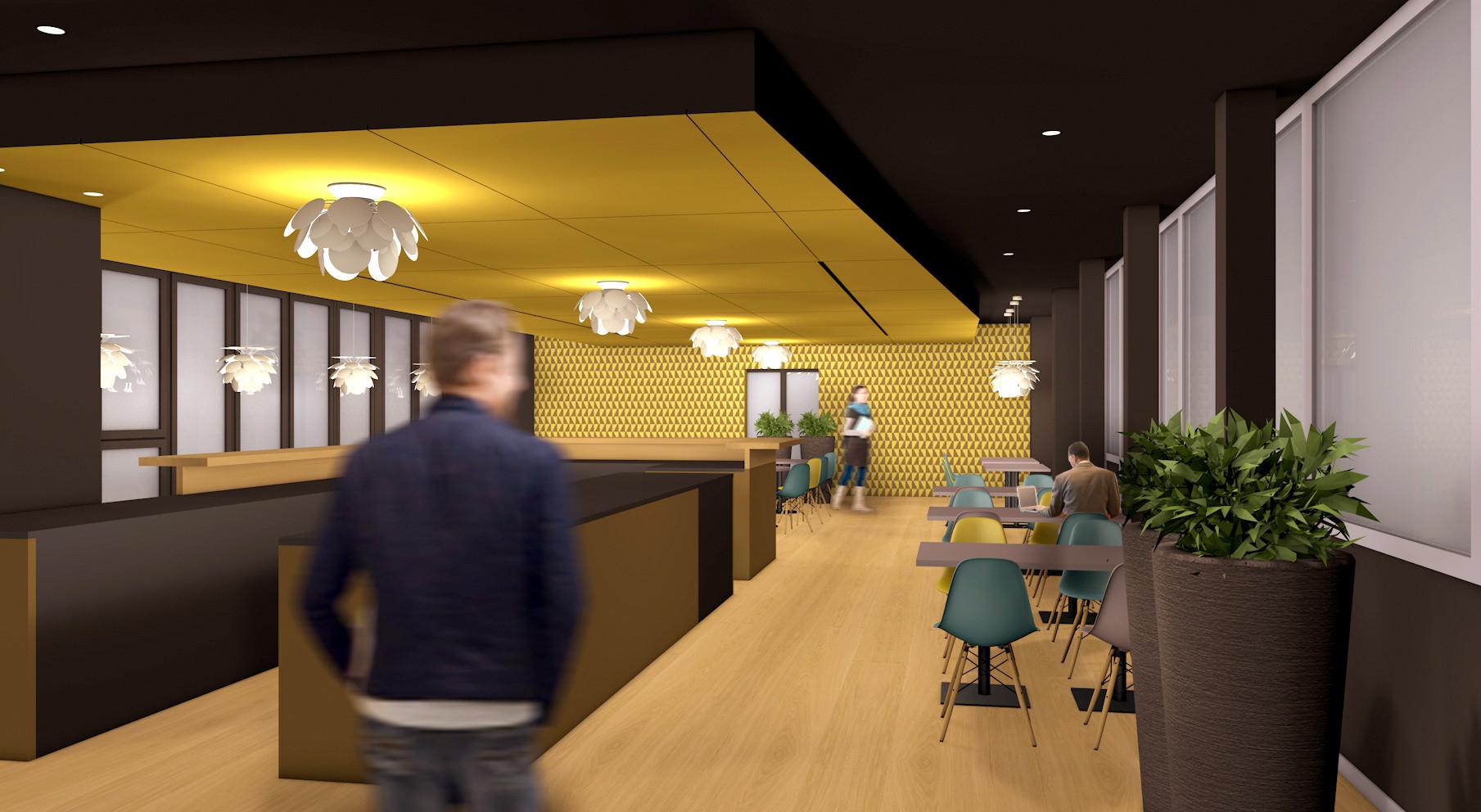 Barmade Innenarchitektur - Planungsphase Restaurant Battenberg