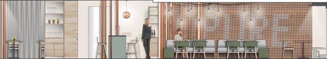 Barmade Innenarchitektur - Planungsphase Restaurant Pure 56