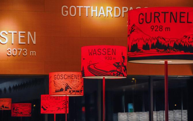 Gotthard Raststätte Erstfeld