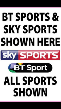 All the big sports events shown here