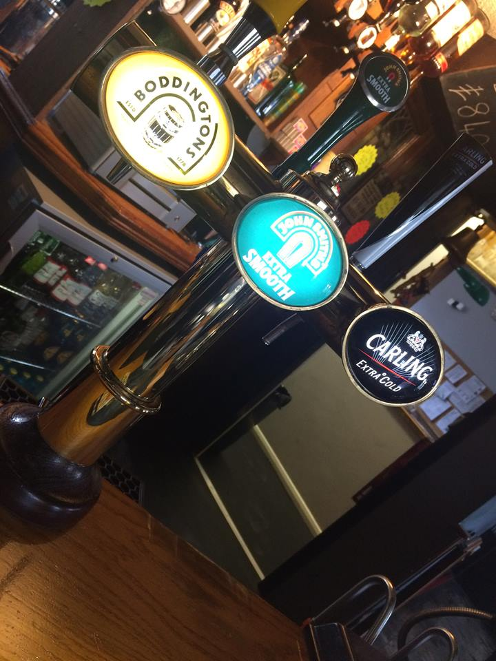 Chilled Lagers on draught