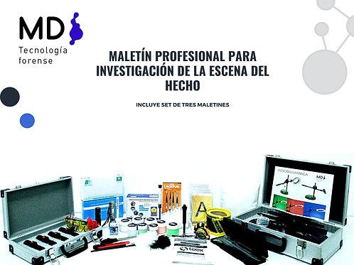 MALETÍN PROFESIONAL P/INVESTIGACIÓN DE LA ESCENA DEL HECHO