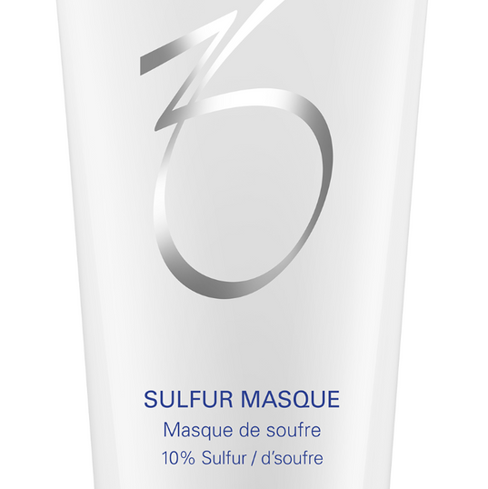 SULFUR MASQUE 85 G // 3 FL. OZ.  Natural, clay-based formula that treats and prevents acne. Formula purifies pores and absorbs excess oil that can lead to future breakouts, while hydrating the skin to combat dryness.  BENEFITS:  *Absorbs surface oils and helps reduce oiliness *Helps prevent clogged pores *Can be used as a spot treatment on blemishes  DIRECTIONS FOR USE:  *Clean the skin thoroughly before applying this product. *Cover the entire affected area with a thin layer and rinse thoroughly twice a week. *Remove with warm water.  ADVANCED INFORMATION  *Sulfur (10%): Treats and prevents acne; reduces sebum and calms irritation *Glycerin: Replenishes hydration to restore skin barrier function *Kaolin and bentonite: Absorb surface oils and removes debris to help keep pores clear