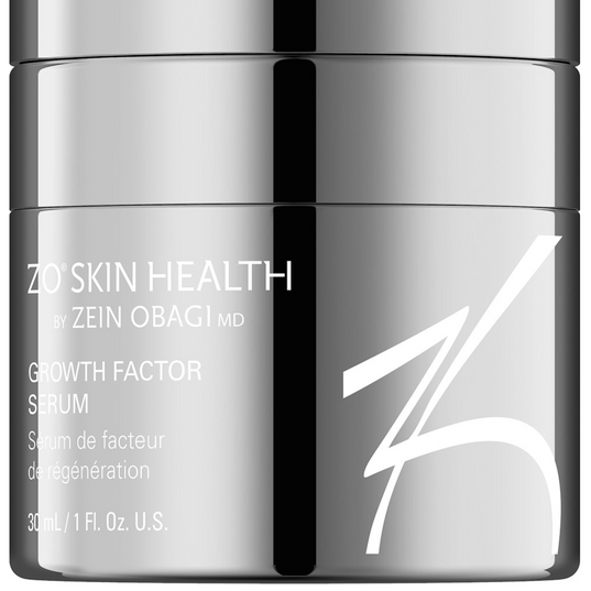 GROWTH FACTOR SERUM 30 ML //1 FL. OZ.  Lightweight gel for all skin types that strengthens skin, supports skin rejuvenation and protects against future signs of aging.  BENEFITS:  Formulated with a combination of plant and enzymatically derived growth factors, clinically proven to:  *Improve overall appearance of skin *Reduce appearance of fine lines and wrinkles *Improve skin firmness and elasticity *Restores hydration and reinforces the skin's protective barrier    93% of patients experienced improvements in fine lines and wrinkles, firmness and elasticity + texture and smoothness, after 12 weeks of using Growth Factor Serum  ADVANCED INFORMATION:  *Disodium acetyl glucosamine phosphate and fermented red ginseng extract: Helps to restore hydration, elasticity and firmness *ZPROTM: Helps prevent future signs of aging    *Dipeptide diaminobutyroyl benzylamide diacetate: Minimizes the appearance of expression lines *Buddleja stem cell: Helps prevent future signs of aging *Beta glucan and angelica polymorpha sinensis root extract: Calms and soothes irritated skin